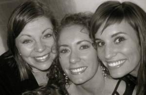 Me, Bekah, and Deborah